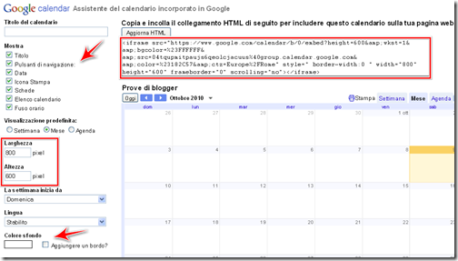 Calendario Per Sito Web.Come Inserire Un Calendario In Un Sito O In Un Blog