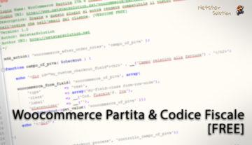 WooCommerce Partita IVA e Codice Fiscale [FREE]